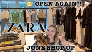 ZARA Shopping Vlog Come Shop With Me NEW ZARA SUMMER 2020 COLLECTION