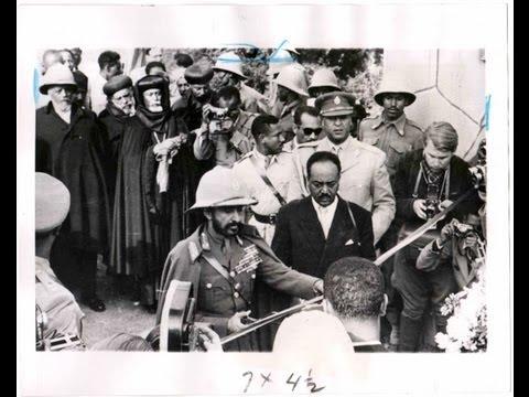 Haile Selassie in Asmara 1952(FEDERATION DAY AKA DARKEST DAY IN ERITREA HISTORY)