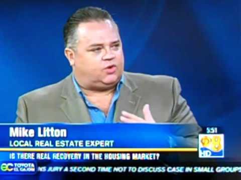 Mike Litton On CBS 8 News At 5:30AM 5.30.2012