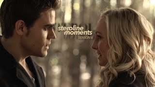 My Favorite Steroline (Stefan & Caroline) Moments | Season 6