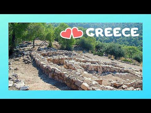 GREECE: ISLAND of SALAMINA & the PALACE of TROJAN HERO AJAX (παλατι Αιαντα)