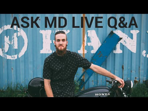 Reading Spark Plugs and Deceleration Backfire - ASK MD LIVE Q&A: EPISODE 10