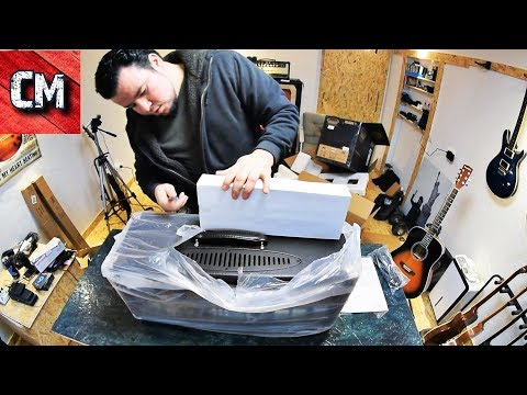 Unboxing Thomann & Musikhaus Korn amp,monitors,microphone and more