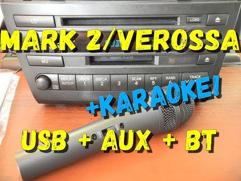 Магнитола MARK 2/VEROSSA USB AUX BLUETOOTH KARAOKE (S5000BT)