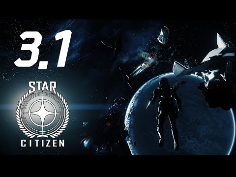 Star Citizen 3.1 - First steps in New Update - 4K Ultrawide