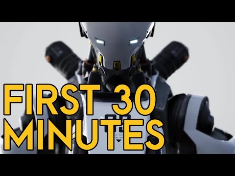ROBO RECALL - 30 Minutes of Gameplay (No Commentary) [Oculus Rift + Touch]