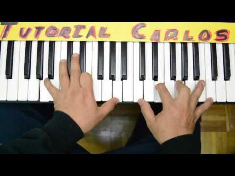 No merecia tanto amor Jesus adrian romero - Tutorial Piano Carlos