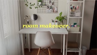 room makeover 2020 | redecorating my room✨🍃 | indonesia