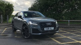 My view of the Edition #1 Audi Q2 150 S-Line. Limited edition car