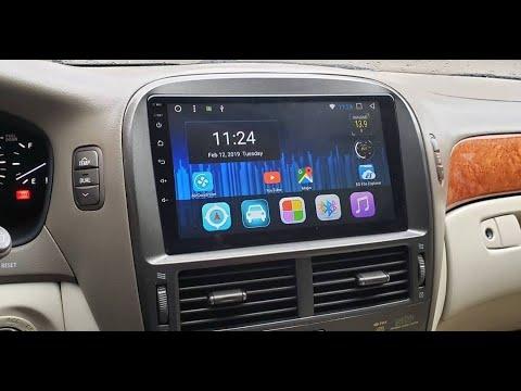 Штатная магнитола Lexus LS430 (2000-2006) 2/32Gb Android (с управлением климатом) LIS430A8