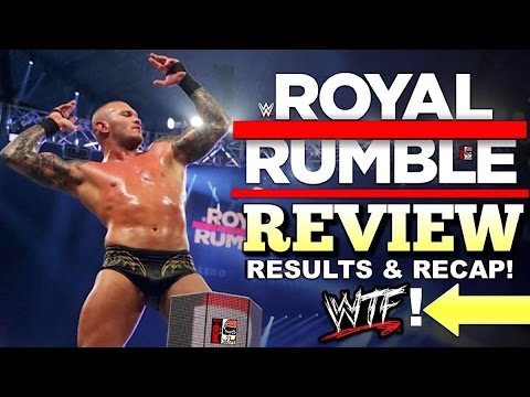 WWE Royal Rumble 2017 REVIEW, RESULTS, &...