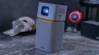 BenQ GV1: Un PROIETTORE Wireless PORTATILE Con Android?!