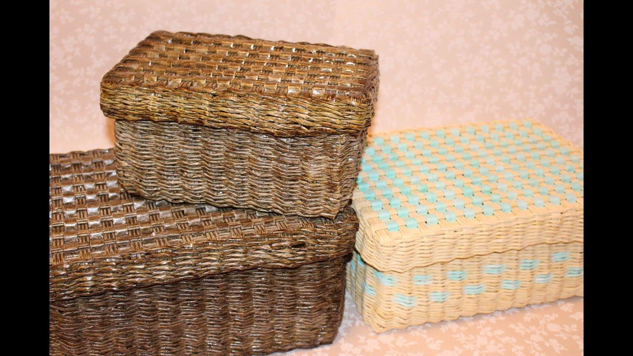 Доступные цены. Предлагаем купить плетеные изделия оптом и в розницу. Короба для хранения вещей и продуктов (комплект). 1600 руб. Купить.