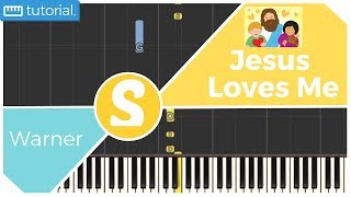 How to play JESUS LOVES ME by Warner | Smart Kids Piano | Kids Piano Tutorials