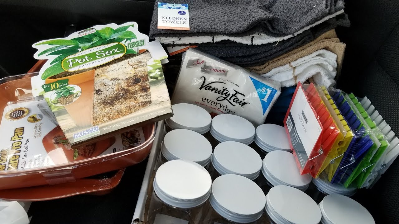 Menards rebate haul 3/31/19