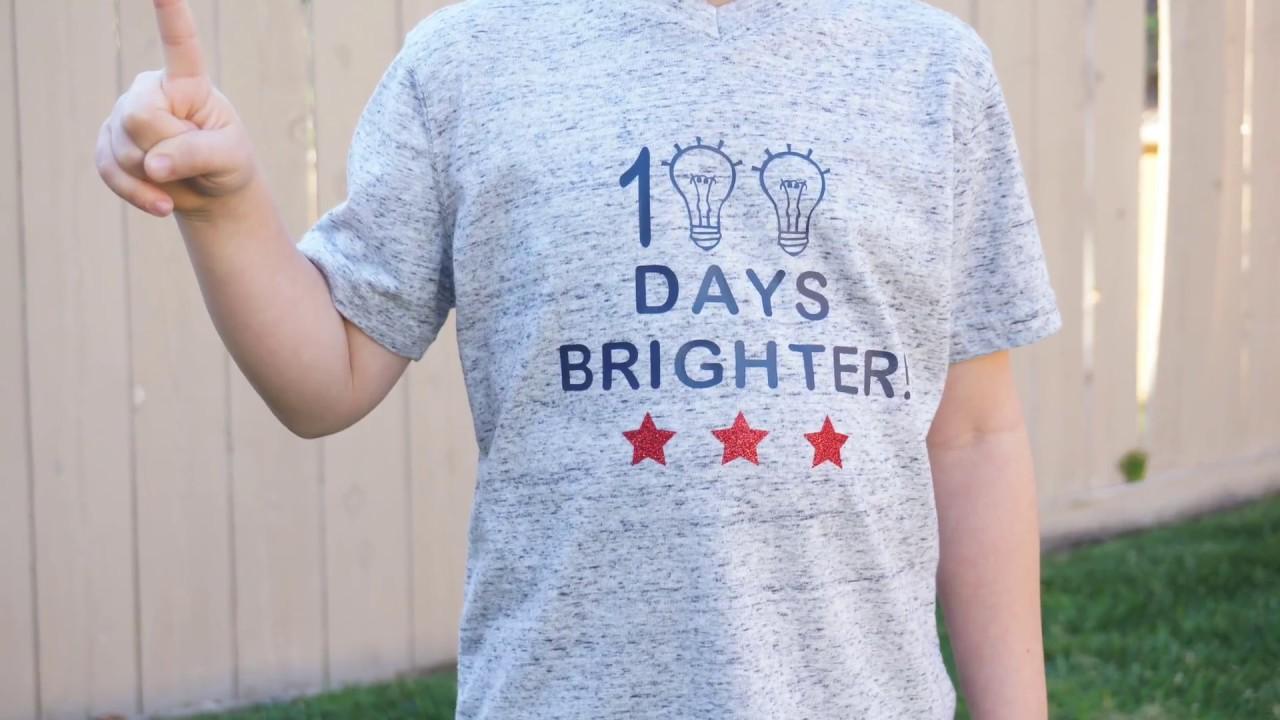 Download 100 Days Of School T Shirt Cricut Youtube