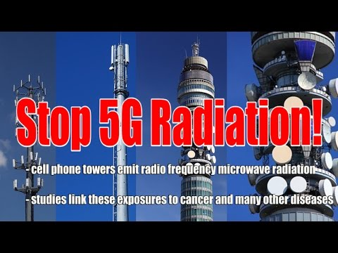 Cell Tower Radiation - Stop 5G