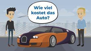 Deutsch lernen mit Geschichten | Ich brauche ein Auto