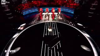 Gigi: Gué non sa cantare - The Voice of Italy - TV Best Moments