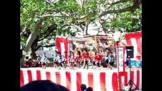 石垣島の豊年祭。 豊年祭は島人の結束を強め、無病息災と五穀豊穣を祈り...