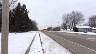 White Bear Lake Fire & Rescue - Ambulance 3 Responding - 01/02/15