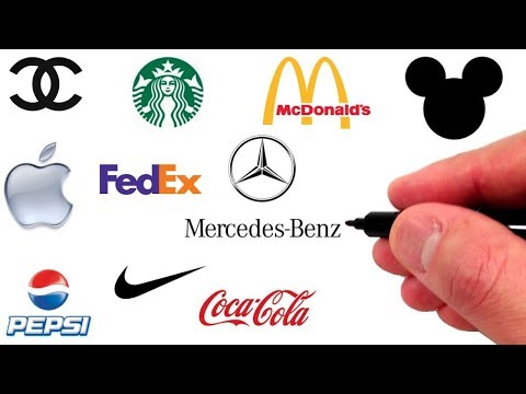 Drawing The 10 Most Iconic Logos Of All Time Youtube