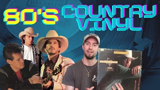 My Vintage Country Music Vinyl Collection   1980's/1990's