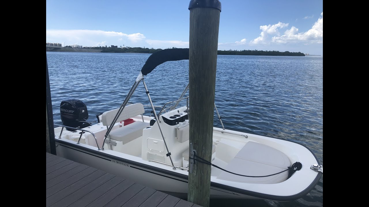 2019 Boston Whaler 15 Montauk For Sale at MarineMax Sarasota