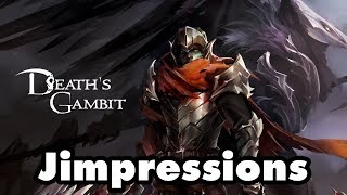 Death's Gambit - The Dark Souls Of Dark Souls Copycats (Jimpressions) (Video Game Video Review)