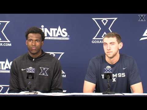 PRESS CONFERENCE: RaShid Gaston and Sean O'Mara