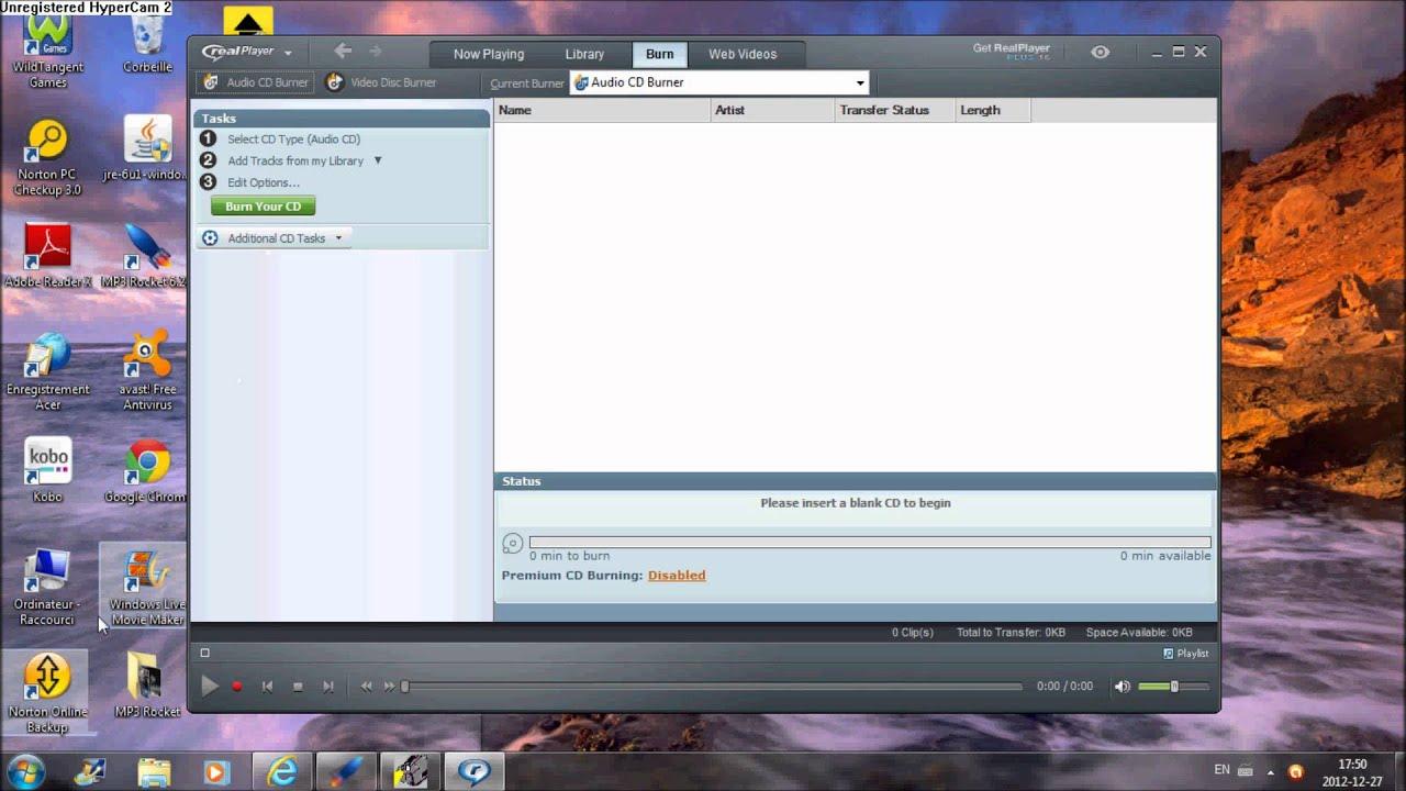 Méthode avec assistant (moins de fonctions mais plus simple). comment graver un CD avec de la musique - YouTube