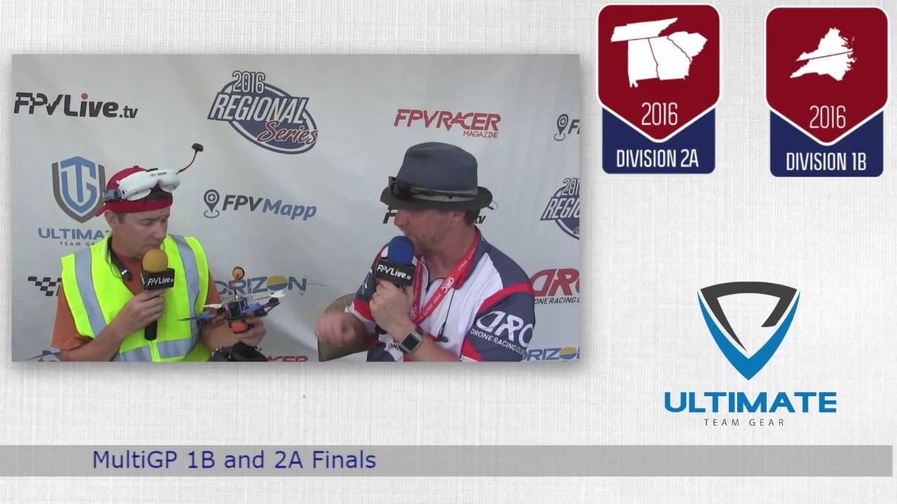 Drone Racing at The Pecan Patch MultiGP 1B/2A Finals- Stickman Interview