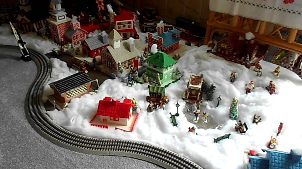 Christmas Village Plastic Canvas Houses Youtube
