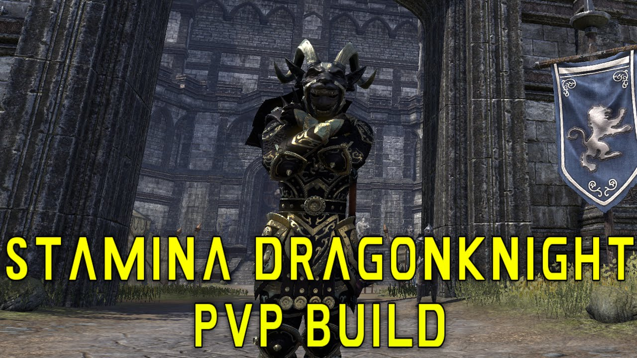 Stamina Dragonknight DPS/TANK PvP Build - ESO | SypherPK