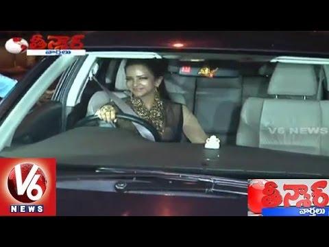 Actress Manchu Lakshmi Counselling on Drunken Driving | Teenmaar News - V6 News