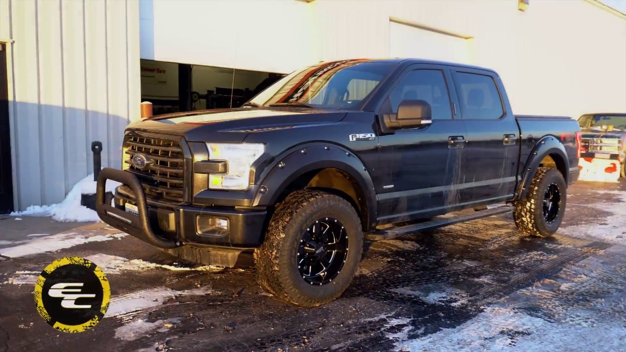 "RealView - 2015 Ford F150 w/ 18"" Moto Metal 962s & 33"" Toyo Open Country A/T IIs - YouTube"