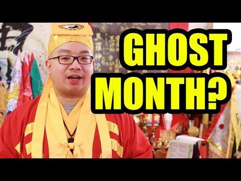 Secret of Ghost Month 鬼月 in Taoism