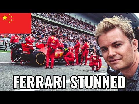 FERRARI & VETTEL SHOCKED BY HAMILTON PACE!! | NICO ROSBERG | CHINA F1 RACEVLOG