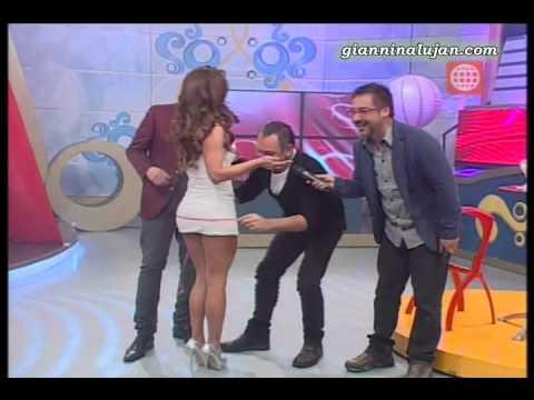 Giannina Lujan en Dos Sapos una Reina [20-09-2012]
