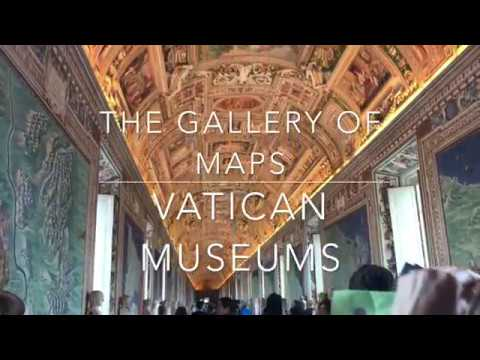 The Gallery of Maps   Vatican Museums   Vatican City   Italy