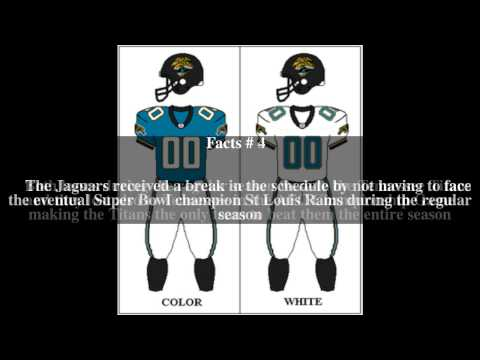 1999 Jacksonville Jaguars season Top # 6 Facts