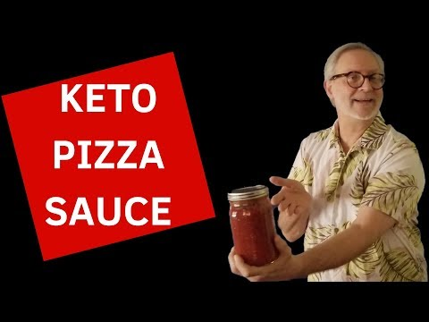 KETO PIZZA SAUCE! NO COOK LOW-CARB ITALIAN TOMATO SAUCE