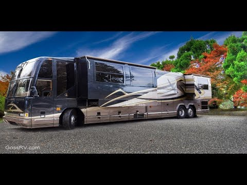 2017 Top 5 Most Expensive And Futuristic Motor Home Prevost Bus RV Coach With Future Technolgy