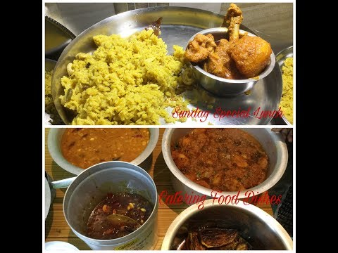 My Sunday Special Vlog - My Catering Food Dishes   Indian Daily Routine - Bengali Video #28