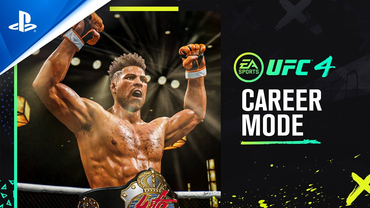 Ufc 4 Official Career Mode Trailer Ps4 Youtube