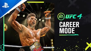 UFC 4 - Official Career Mode Trailer | PS4