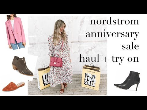 FASHION || huge nordstrom anniversary sale haul + try on