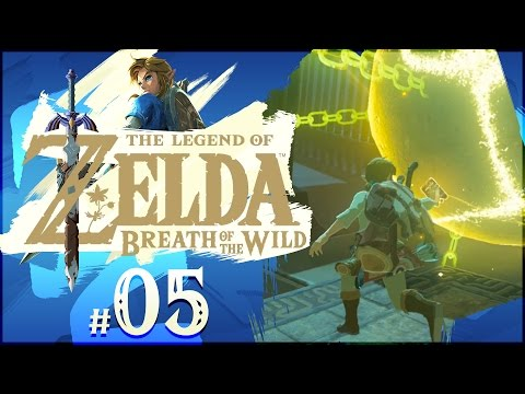 The Legend Of Zelda: Breath Of The Wild - Part 5 | Owa Daim Shrine - Stasis Trial!