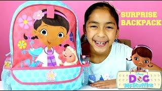 Doc McStuffins Huge Surprise Backpack Disney Avengers Hello Kitty Activity Kit|B2cutecupcakes