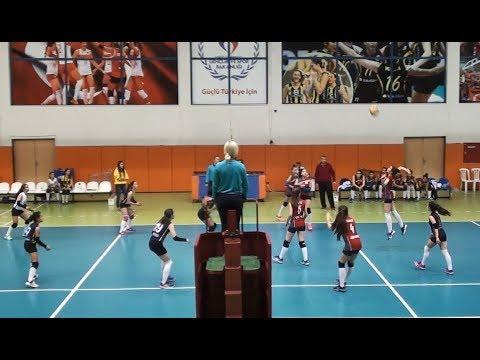 ANKARA PERFORMANS – A.B.C. KOLEJI B 2.Set Küçük Kızlar Voleybol (10.02.18/Ankara)